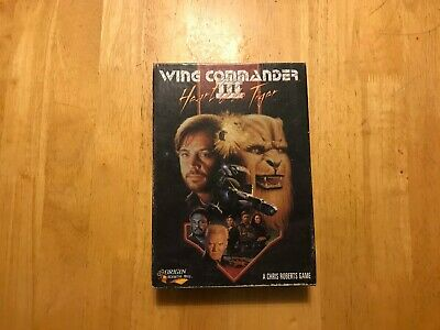 Wing Commander Iii 3 Heart Of The Tiger Pc Big Box Complete Ebay