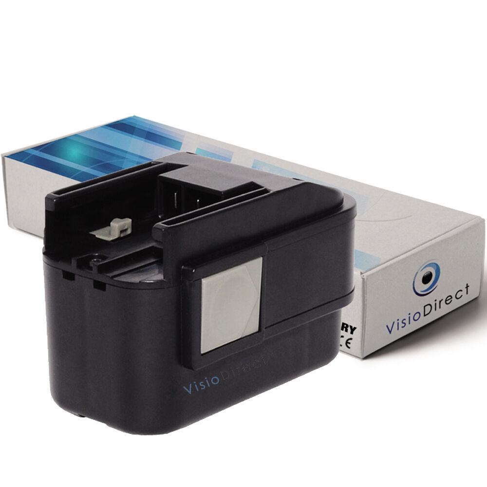 Batterie 9.6V 2000mAh pour Milwaukee PES9.6 - Société Française -
