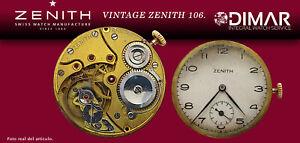 Vintage Original Movement Zenith Calibre 106