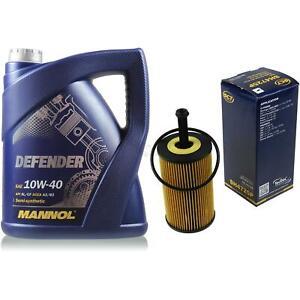 Olwechsel-Set-5-Liter-MANNOL-Defender-10W-40-SCT-Olfilter-Service-10164269