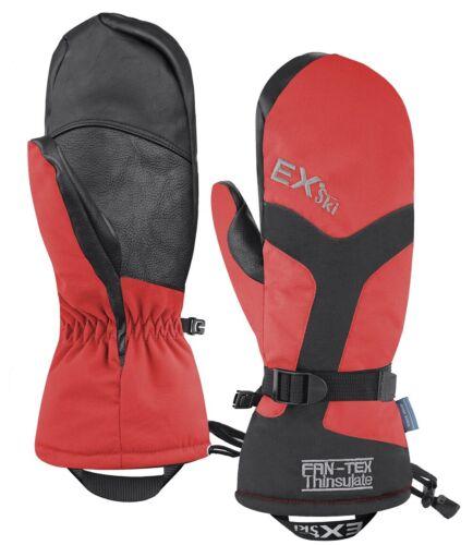 35℃ Waterproof Windproof Ski Mittens Warm Snowmobile Snowboard Gloves Size L