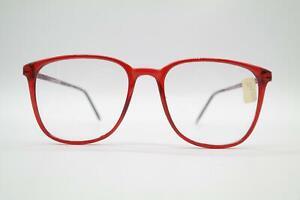 Vintage-Dr-Gumpelmayer-A-497-Rot-oval-Brille-Brillengestell-eyeglasses-NOS