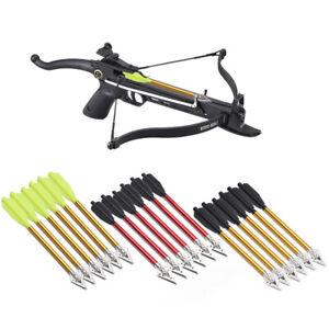 6//12x Metal Archery Broadhead 100Grain Compound Bow Crossbow Hunting Arrows Tips