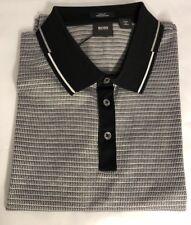 Boss Hugo Boss Pitton 4 Black Label Short Sleeve Slim Fit Polo Shirt L