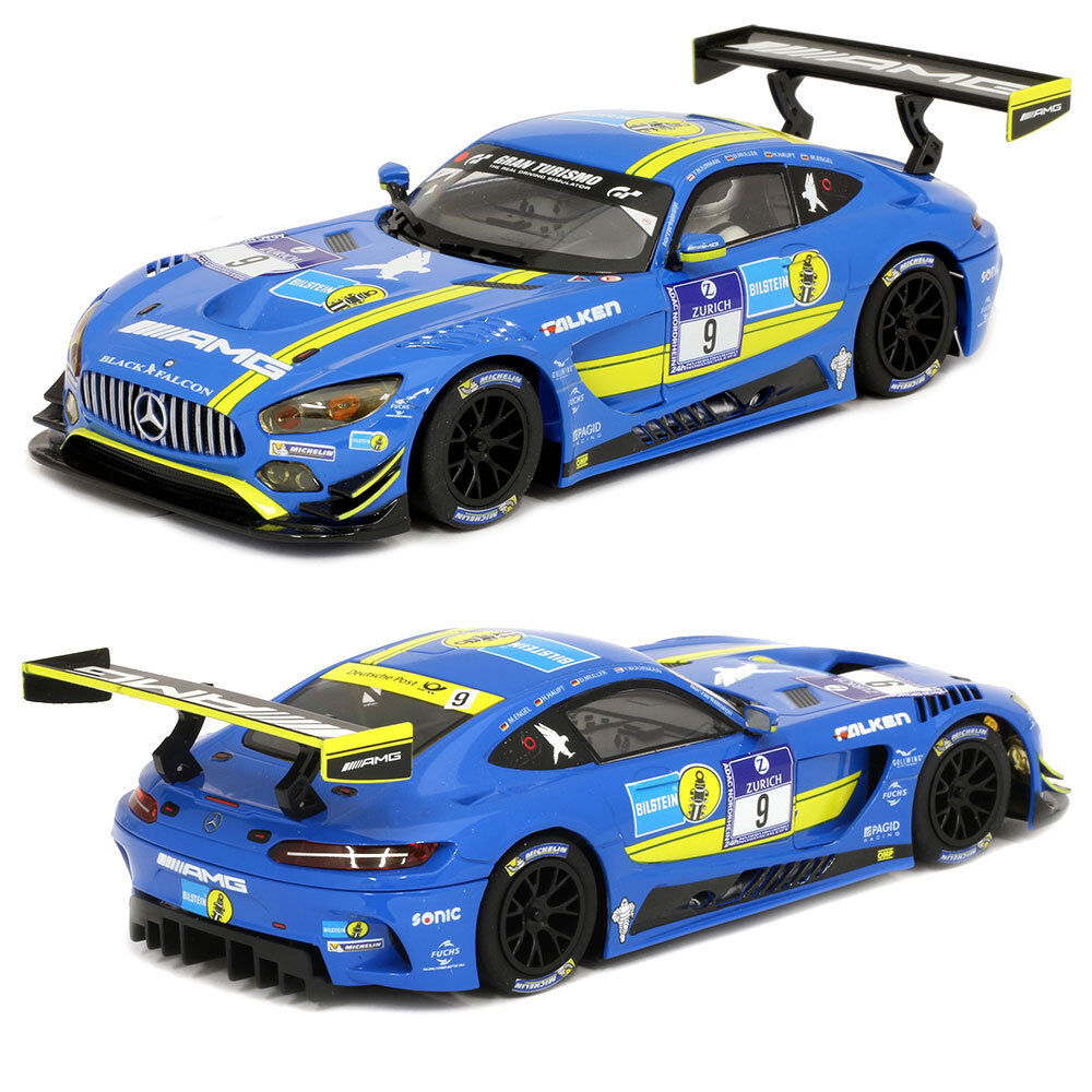 SCALEXTRIC Slot Car Mercedes AMG GT3 No9
