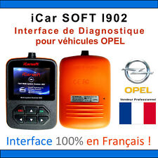 Valise Diagnostique OPEL - iCarSOFT I902 - OP - GM TECH - SCANNER OBD2 COM