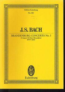 J-S-Bach-Brandenburg-Concerto-No-5-D-Dur-BWV-1050-Studienpartitur