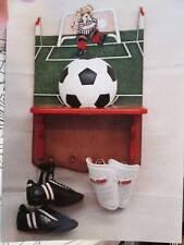 Teddy Bear Soccer Ball Shelf Debbie Mitchell Painting Packet