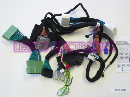 Select Nissan /& Infiniti Push To Start Vehicles T Harness Fortin THAR-NIS4 Fits