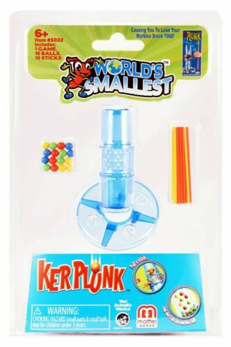 World/'s Smallest Kerplunk Game Brand New Sealed In Pack