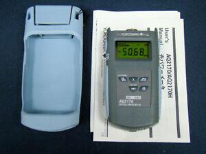 YOKOGAWA AQ2170 Optical Power Meter Used
