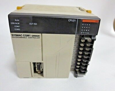 Sysmac Omron CQM1-CPU21 Programmable Controller