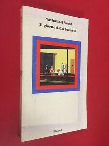 Nathanael-WEST-IL-GIORNO-DELLA-LOCUSTA-Einaudi-Nuovi-Coralli-68-1973-Libro