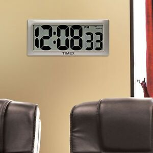 Image Is Loading Timex Intelli Time Extra Large Digital LCD Clock