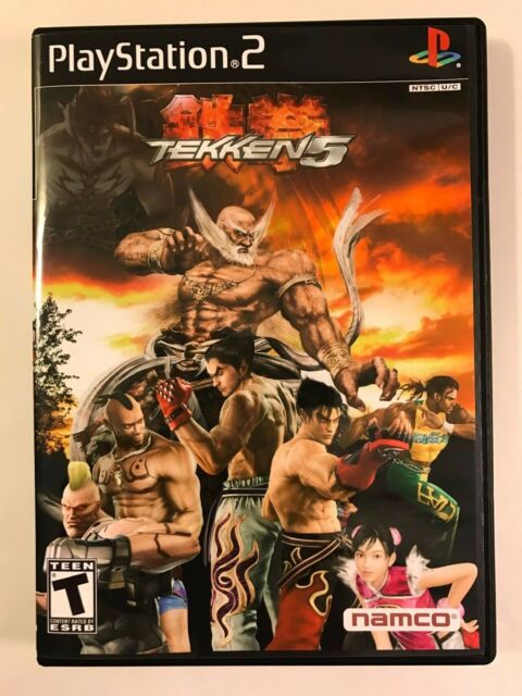 Tekken 5 Playstation 2 Replacement Case No Game Ebay