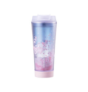 Starbucks Korea 2018 Spring Cherry Blossom LED Tumbler 355ml+Tracking