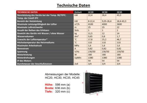 26kw Reventon hc30-3s conjunto completo