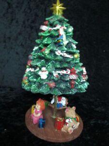 Spieluhr Weihnachten.Details Zu Spieluhr Weihnachten Geschmückter Tannenbaum Mit Geschenken Beweglich 55051