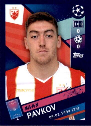Topps Champions League 18//19 Sticker 574 Milan Pavkov