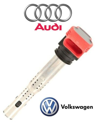 For Audi A4 A5 A6 Quattro S5 S6 VW Touareg Ignition Coil w// Spark Plug Connector