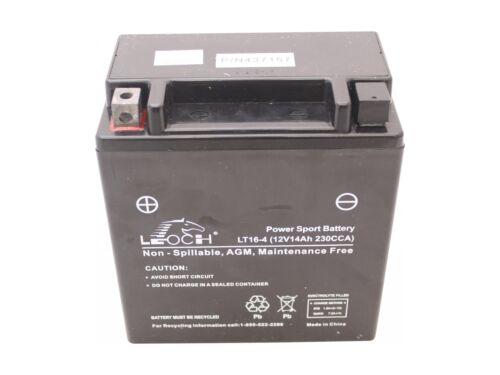 Batterie 12V 14Ah passend Husqvarna CTH164T 96051007500 Rasentraktor