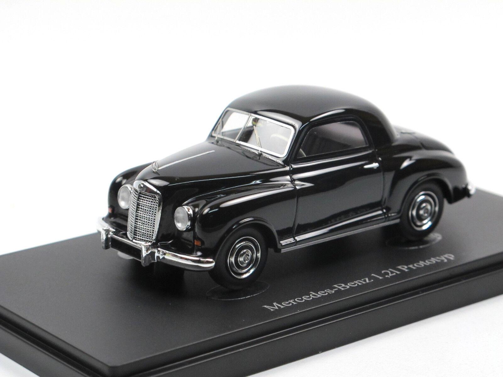 Autocult 06022-Mercedes-Benz 1,2 L-Prougeotype 1948-Noir - 1 43 Limited