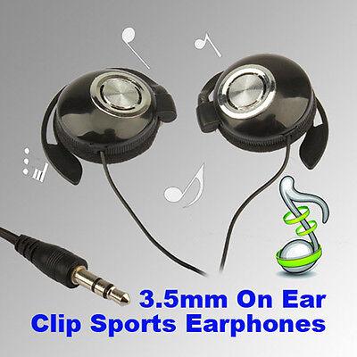 Sport Earphone Clip On Sports Stereo Headphones Earphone For MP3 MP4 Player