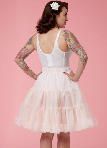 petticoat Gertie bustier swing slip Retro sewing pattern Fifties style B6530