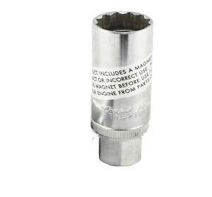 Trident Magnetic Spark Plug Socket 3//8 Drive 16mm
