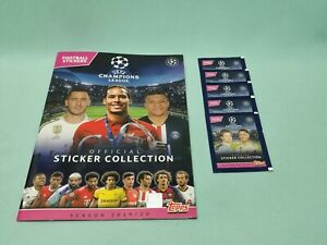 Topps-Champions-League-Sticker-2019-2020-Sammelalbum-5-Tuten-19-20-Album