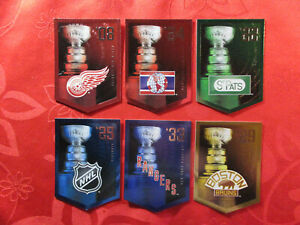 6-CARDS-MOLSON-PANINI-THE-STANLEY-CUP-2012