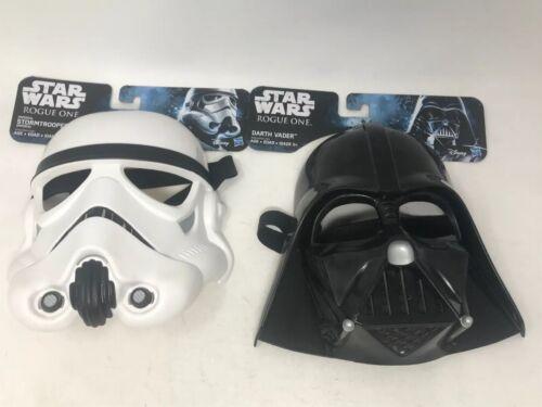 Child Size for Kids Lot Of 2 Vader /& Stormtrooper Mask Star Wars Rogue One