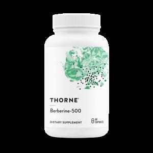 THORNE-RESEARCH-Berberine-500-60-Vegetarische-Kapseln-VERSAND-WELTWEIT