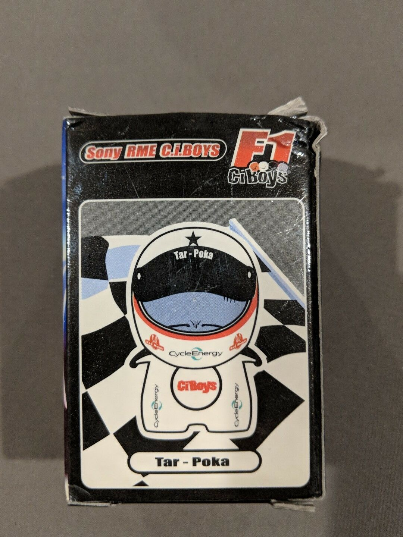 Sony RME C.I. Boys F1 CIBoys Race Doll/Keychain - Tar Poka NEW RARE賽車公仔/鑰匙圈
