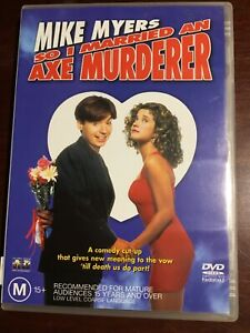 SO-I-MARRIED-AN-AXE-MURDERER-Mike-Myers-Nancy-Travis-Good-Condition-DVD-R4-PAL