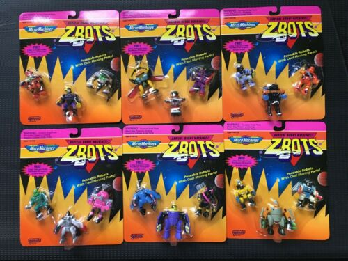 Choose the ones you want Set of 6 Galoob Micro Machines ZBots