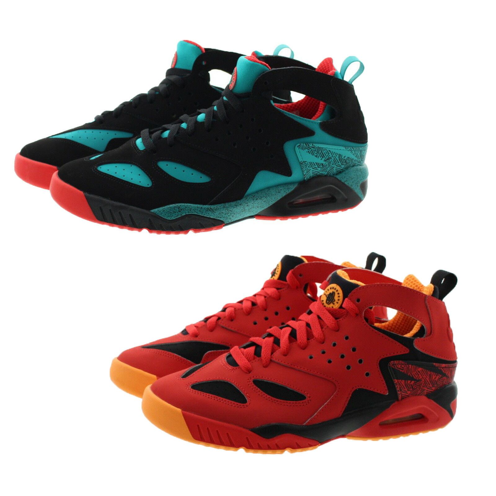 Nike 630957 Mens Air Tech Challenge Huarache Mid Top Athletic shoes Sneakers