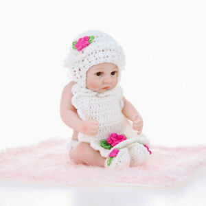 10in Reborn Baby Rebirth Doll Kids Gift All Silica Gel Girl J4Q1