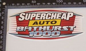 GENUINE-SUPERCHEAP-AUTO-BATHURST-1000-SOUVENIR-CAR-RACING-STICKER-MERCHANDISE