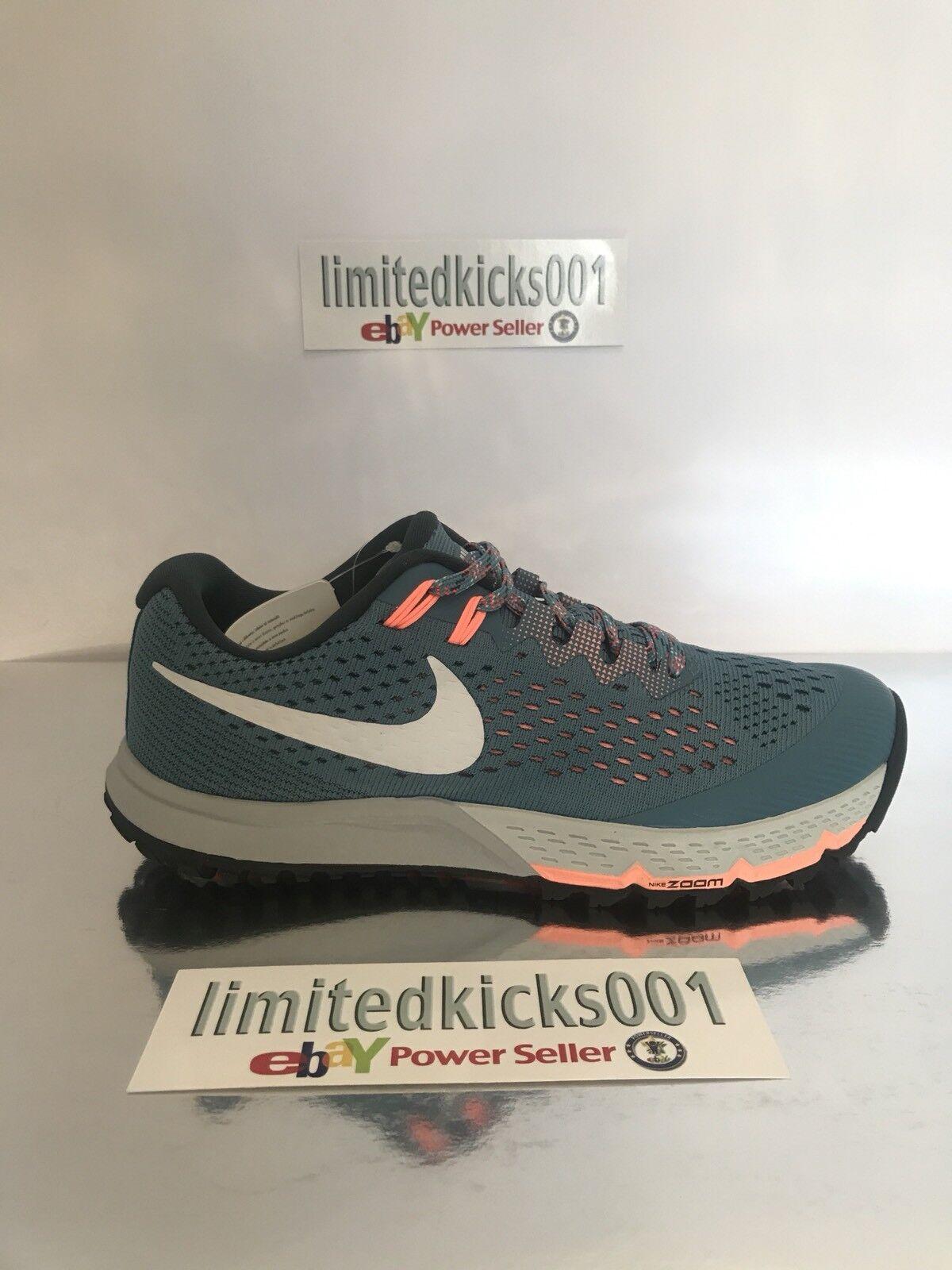 BNWT Nike Air Zoom Orange Terra Kiger 4 Blue Orange Zoom Linea Donna Scarpe da ginnastica Trail SZ 5.5 ff7640