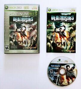 Dead Rising for Microsoft Xbox 360 CIB Video Game