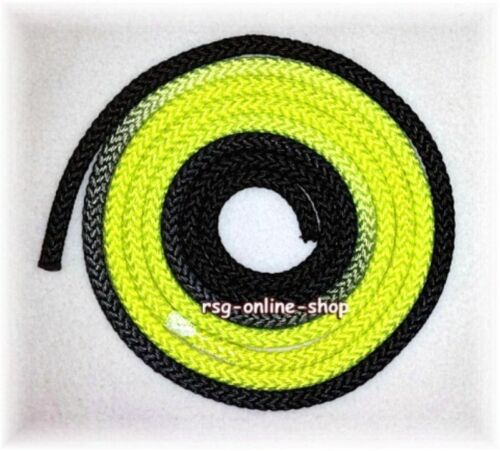 RSG Rope Competition Rope Gym Rope Pastorelli Senior NEW Black//Neon Yellow Fig!