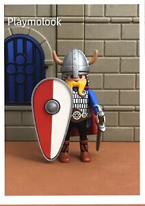 UN-ESCUDO-COMETA-CUSTOM-NORMANDOS-KNIGHT-SHIELD-PIEZAS-PLAYMOBIL-NO-INCLUIDAS