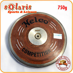 Nelco-Wooden-Discus-65-Rim-Weight-Steel-Rim-School-Athletics-Competition-IAAF