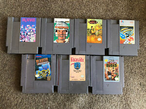 Lot-Of-7-NES-Nintendo-Entertainment-System-Games-Tested-Faxanadu-Dr-Mario