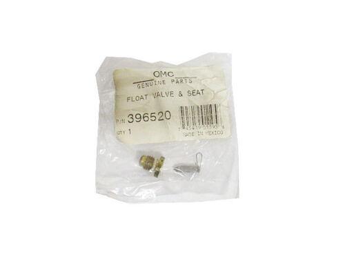 396520 New OMC//Johnson//Evinrude Float Valve /& Seat