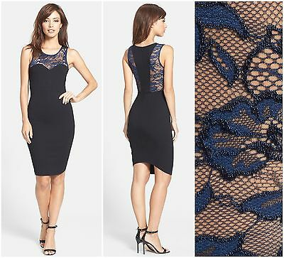FELICITY /& COCO  FLORAL JACQUARD POPOVER SHEATH DRESS  Nordstrom  NEW  $ 118
