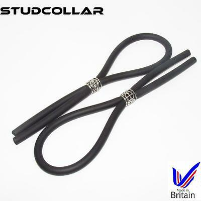 Strong & Stretchy Neoprene Rubber Hoop/penis Ring Factories And Mines Aspiring Studcollar-flex Twin Pack