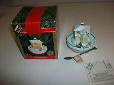 HALLMARK Magic Light and Motion GOOD SLEDDING AHEAD Ornament 1992