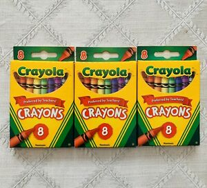 Crayola Crayons 3 Pack Non Toxic Preferred By Teachers Made In USA